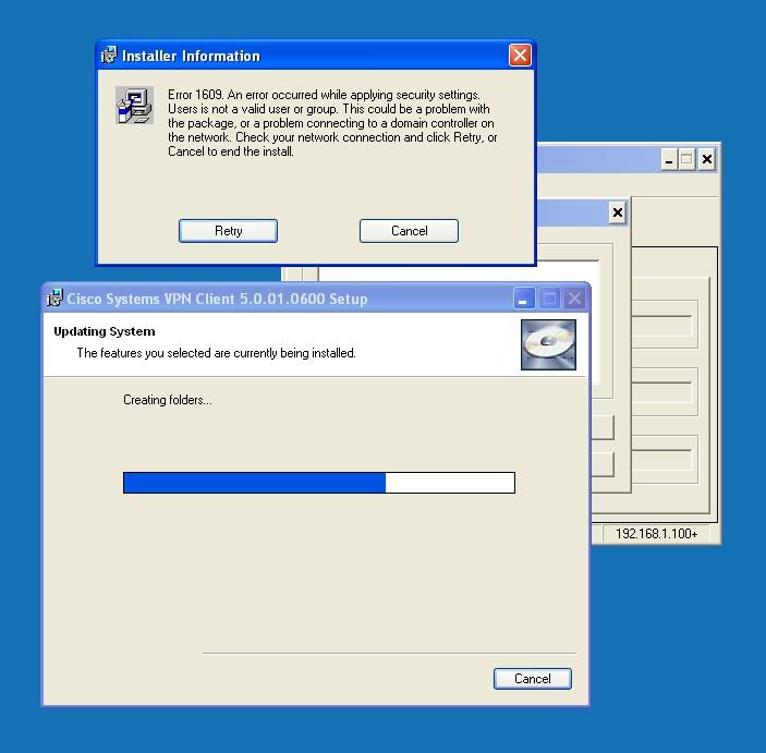error 2503